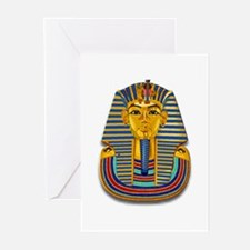 King Tut Mask #2 Greeting Cards (Pk of 20)