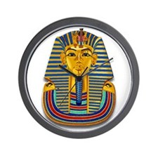 King Tut Mask #2 Wall Clock