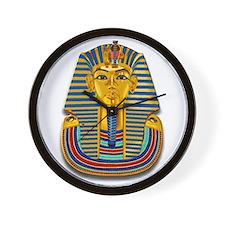 King Tut Mask #2 Wall Clock