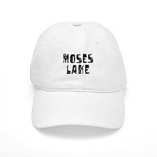 Moses Lake Faded (Black) Baseball Cap