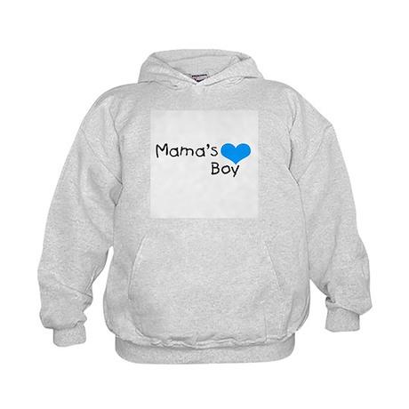 Mama's Boy Kids Hoodie