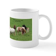 Mini Horses in Pasture Mug