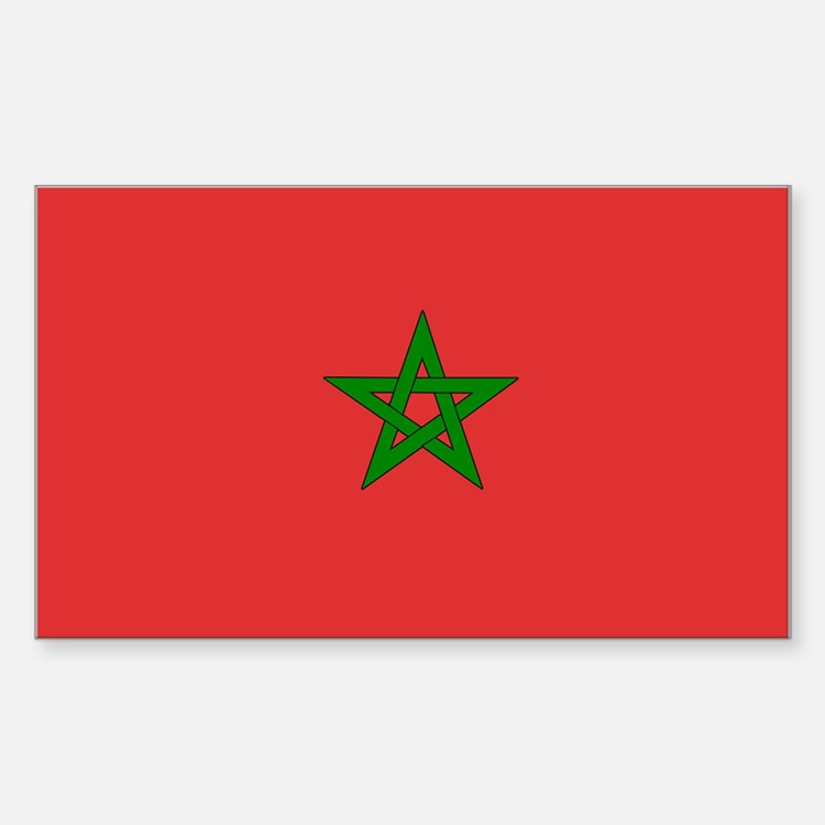 Morocco Rectangle Decal