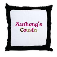 Anthony's Cousin Throw Pillow