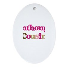 Anthony's Cousin Oval Ornament
