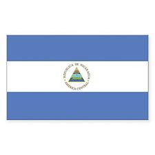 Nicaragua Rectangle Decal