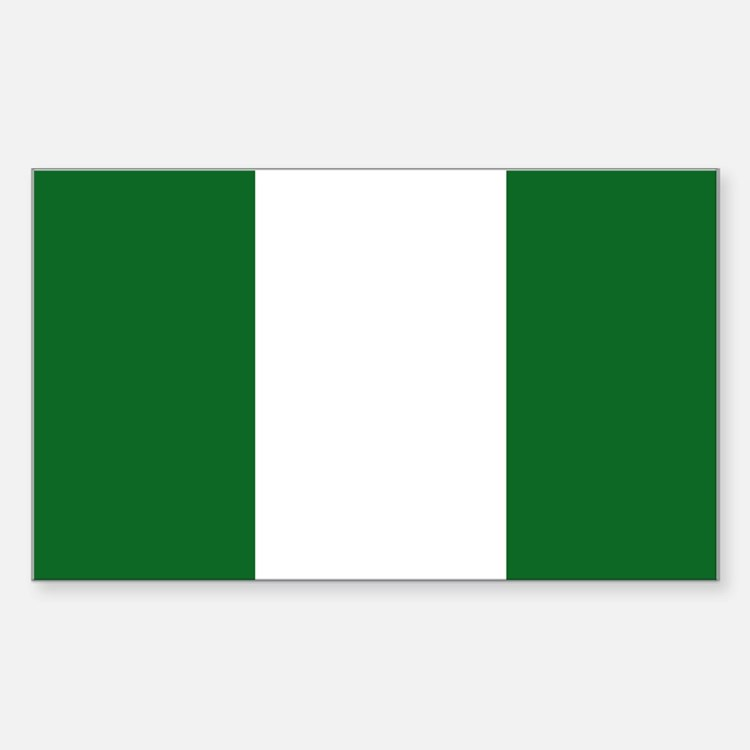 Nigeria Rectangle Decal
