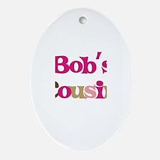 Bob's Cousin Oval Ornament
