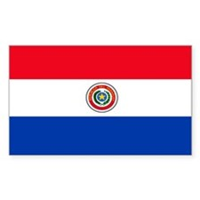 Paraguay Rectangle Decal
