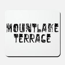 Mountlake Te.. Faded (Black) Mousepad