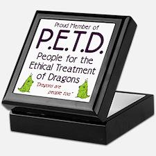 P.E.T.D. Keepsake Box