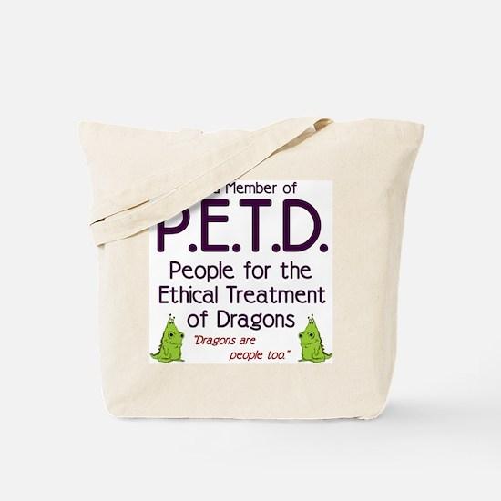 P.E.T.D. Tote Bag