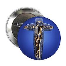 """Crucifix 2.25"""" Button"""