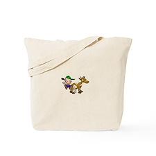 Milking Cow Tote Bag