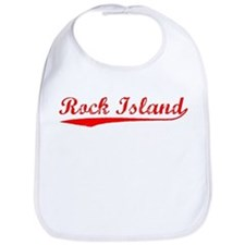 Vintage Rock Island (Red) Bib