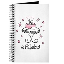 Fabulous 40 Journal