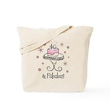 Fabulous 40 Tote Bag