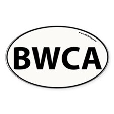 BWCA - Boundary Waters Canoe Area Oval Decal