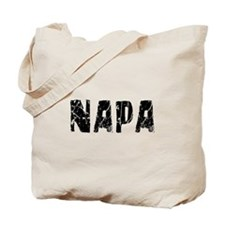 Napa Faded (Black) Tote Bag