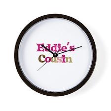 Eddie's Cousin Wall Clock