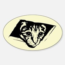 Ceiling Cat - No Text Oval Decal