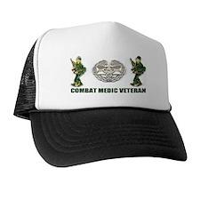 COMBAT MEDIC VETERAN Trucker Hat
