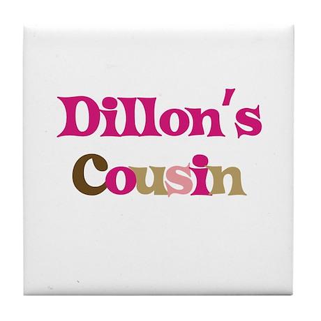 Dillon's Cousin Tile Coaster