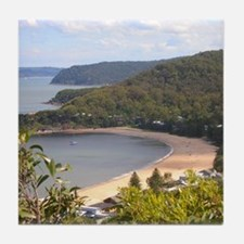 Pearl Beach, Central Coast Tile Coaster
