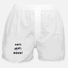 Ants Rock! Boxer Shorts