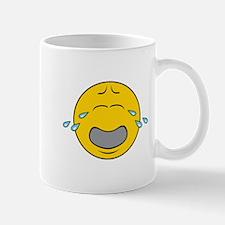 Sad Crying Smiley Face Mug