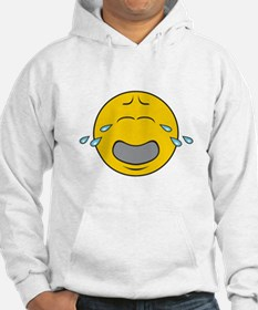 Sad Crying Smiley Face Hoodie