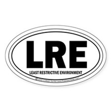 Offical Destination LRE (TM) Oval Decal