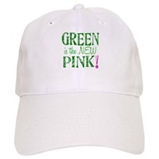 GREEN IS THE NEW PINK Baseball Cap