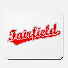 Retro Fairfield (Red) Mousepad