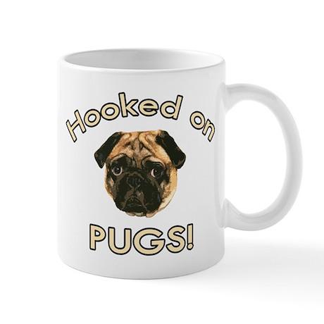 Hooked on Pugs Mug