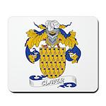 Claver Family Crest Mousepad