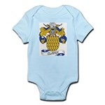 Claver Family Crest Infant Creeper