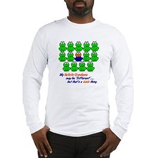 Different FROGS 1 (Grandsons) Long Sleeve T-Shirt