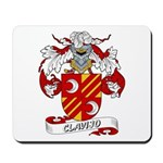 Clavijo Family Crest Mousepad
