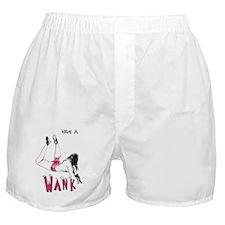 'Wank' Boxer Shorts