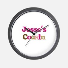 Jesse's Cousin Wall Clock