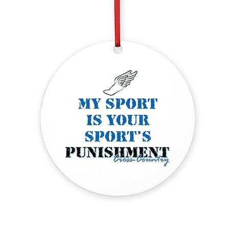 Punishment CC Ornament (Round)
