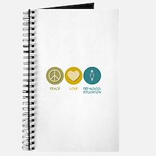 Peace Love Pre-School Education Journal