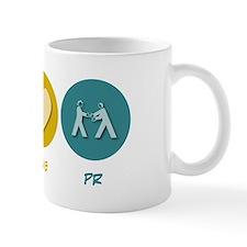 Peace Love PR Mug