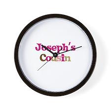 Joseph's Cousin Wall Clock