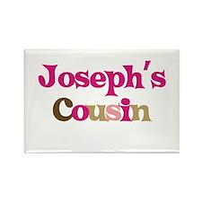Joseph's Cousin Rectangle Magnet