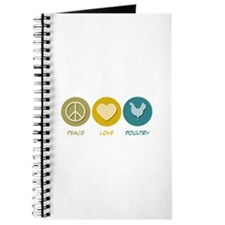 Peace Love Poultry Journal
