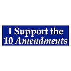 The 10 Amendments (bumper sticker)