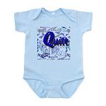 Quilt Blue Infant Bodysuit