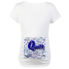 Quilt Blue Shirt